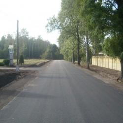 droga Kobylnica Mała- Rzeczyca  gm. kruszwica po budowie