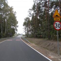 droga Łochowo-Murowaniec  po przebudowie