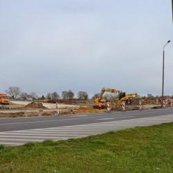 Łącznik w Inowrocławiu w trakcie budowy