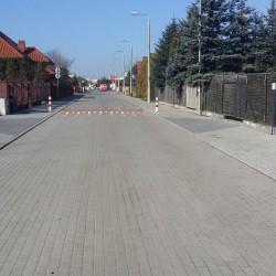 ul. Boleslawa  w Inowrocławiu Lesmiana po przebudowie