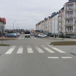 ul. Jesionowa  w Inowrocławiu po przebudowie