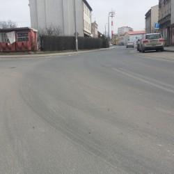 ul. Marcinkowskiego  w Inowrocławiu  po przebudowie