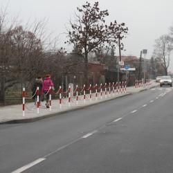 ul. Marii Skłodowskiej- Curie  w Inowrocławiu  po przebudowie