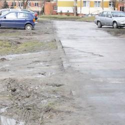 ul. Pawła Cymsa  w Inowrocławiu przed przebudową