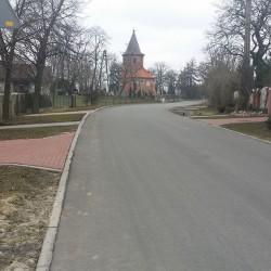ul. Przyjezierna w Janikowie po przebudowie