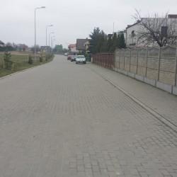 ul. Wapienna w Inowrocławiu po przebudowie