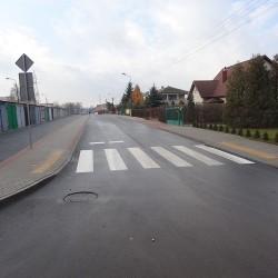 ul. Wiejska w Kruszwicy po przebudowe