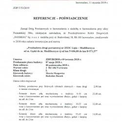 Referencje  2533C Lipie Modliborzyce 2018-1