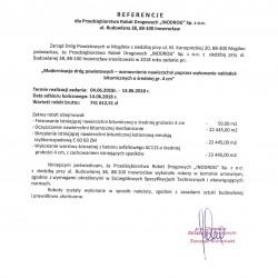 Referencje nakładki Mogilno 2018-1