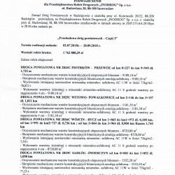 Referencje nakładki Radziejów 2018-1