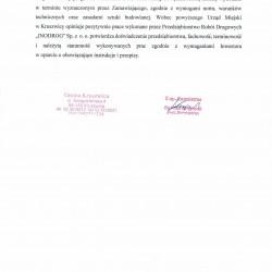 Referencje ul.Kasprowicza- ul.Lipowa 2017-11